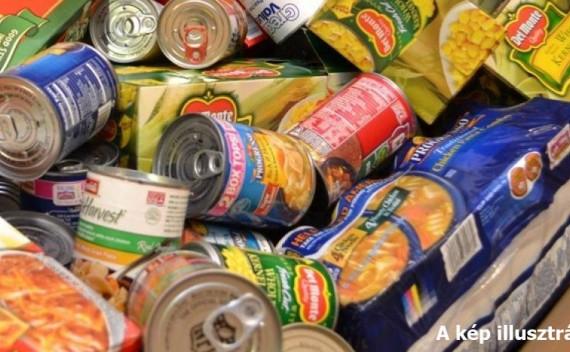 Tartós élelmiszer gyűjtés
